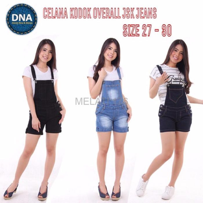 SALE Jual 3 WARNA Celana Kodok Pendek Overall Short Jeans Ripped Deni
