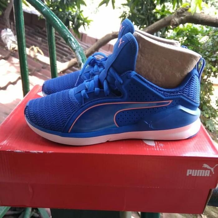 new concept ede93 2d28a Jual Sepatu Sneakers Puma Fierce Lace Core Womens Lapis Blue Original - The  Shop Shop Original | Tokopedia