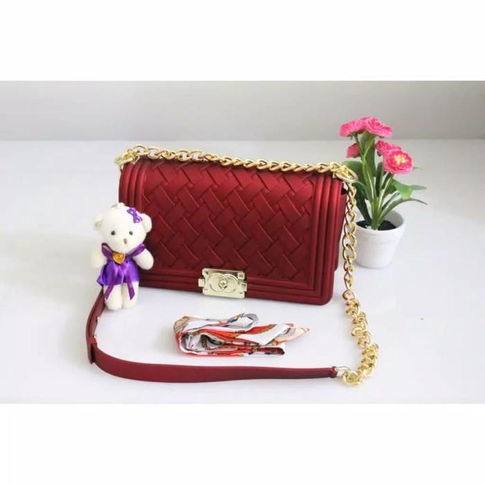 409749dc84ae Jual tas import jakarta jelly matte chanel toyboy rajut UK 25 IMPORT ...