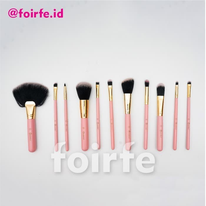 Jual BH Cosmetics Dot Collection Brush Set Pink Gold Real Picture NK69 -  Kota Tangerang Selatan - Nikita's Corner | Tokopedia