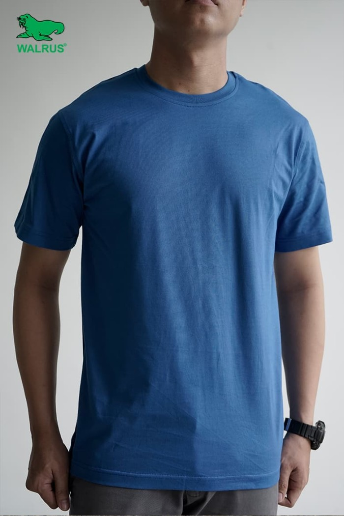harga Kaos polos pria olahraga biru lengan pendek - biru xxl Tokopedia.com