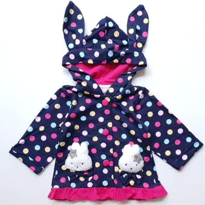Beli Jaket Hoodie Kaos Anak Bayi Cewek Perempuan Telinga Kelinci