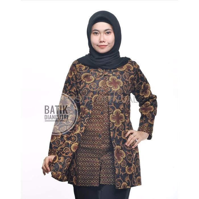 Jual Batik Cewek Murah Atasan Batik Wanita Model Cardigan Lengan Panjang S Dki Jakarta Jinsol Official Tokopedia
