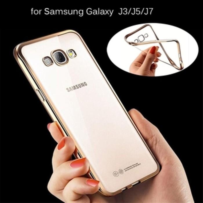 Soft Casing Case Hp Shining Chrome Ultrathin Samsung Galaxy Prime