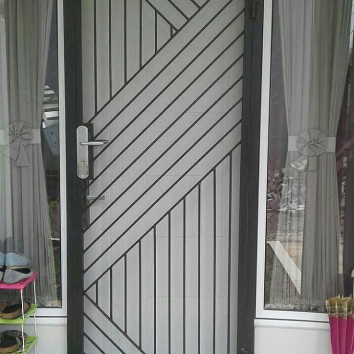 Jual Pintu Teralis Pintu Doblle Minimalis Kota Tangerang