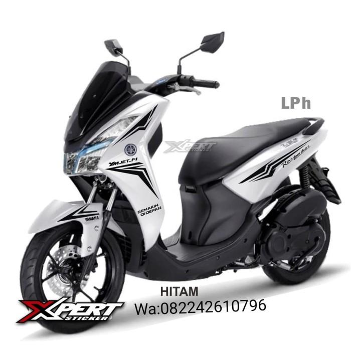 Foto Produk Striping Cutting Yamaha Lexi Putih Sporty edition dari StickerArt