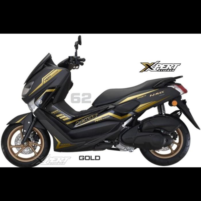 Foto Produk Striping Cutting Yamaha NMAX NEW ABS Sporty Gold dari StickerArt