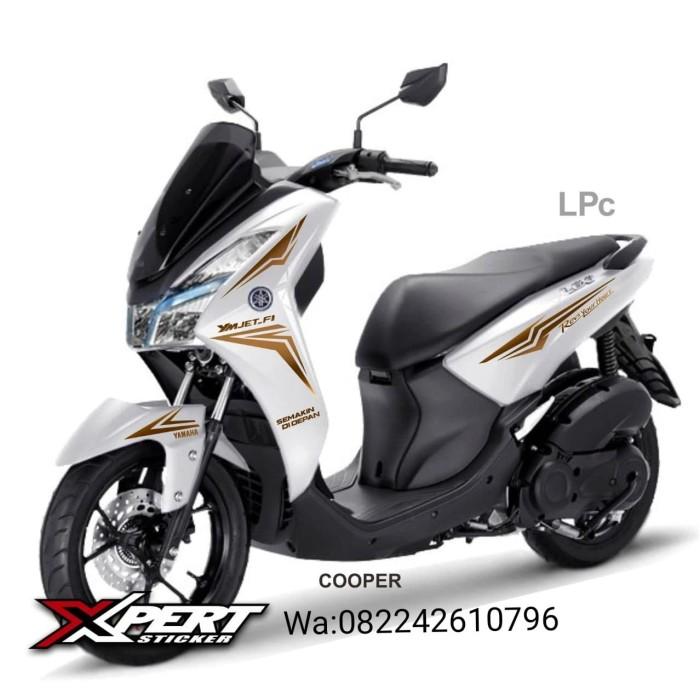 Foto Produk Striping Cutting Yamaha Lexi putih Sporty edition Cooper dari StickerArt