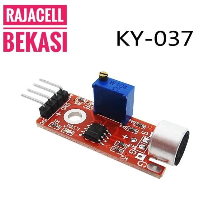 Jual Microphone Sensor for Arduino Mic Audio Sensor Digital & Analog Out -  Kota Bekasi - RAJACELL BEKASI | Tokopedia