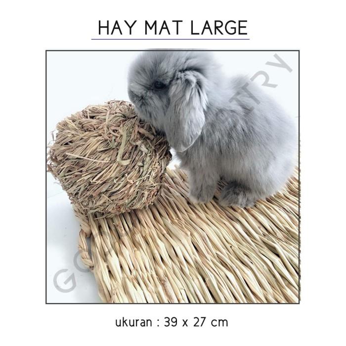 harga Hay mat large / alas kandang rumput ukuran besar Tokopedia.com