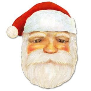 graphic regarding Santa Claus Printable Pictures known as Jual Jasa Print Do it yourself Topeng Santa Claus - Kab. Tangerang - Baquandi  Tokopedia