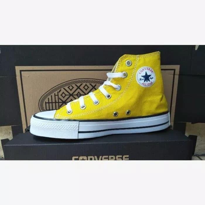 Jual Sepatu All Star Warna Kuning Tinggi Kota Tangerang Selatan