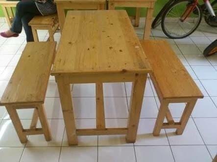 Jual Set Kursi Meja Warung Makan - Jepara - Aulia Ukir Jepara   Tokopedia