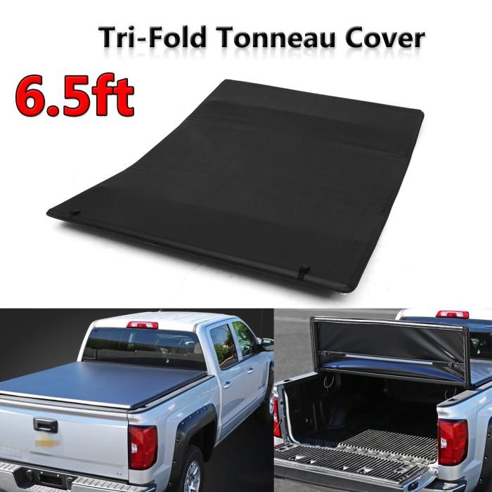 Jual Tonneau Cover Soft Tri Fold For Chevy For Gmc Sierra