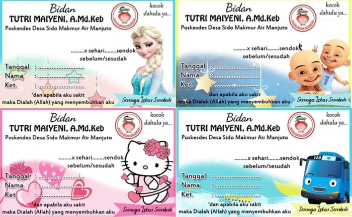 Jual Stiker Label Promosi Produk Uk 8x5cm Kab Pangandaran Paket Wedding Tokopedia