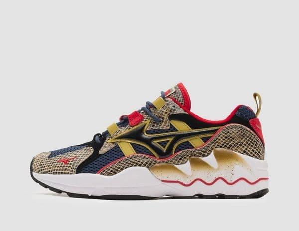 0185a7c7e3f9 Sepatu Sneakers Mizuno x 24 Kilates Wave Rider 1 KC multi D1GD180414