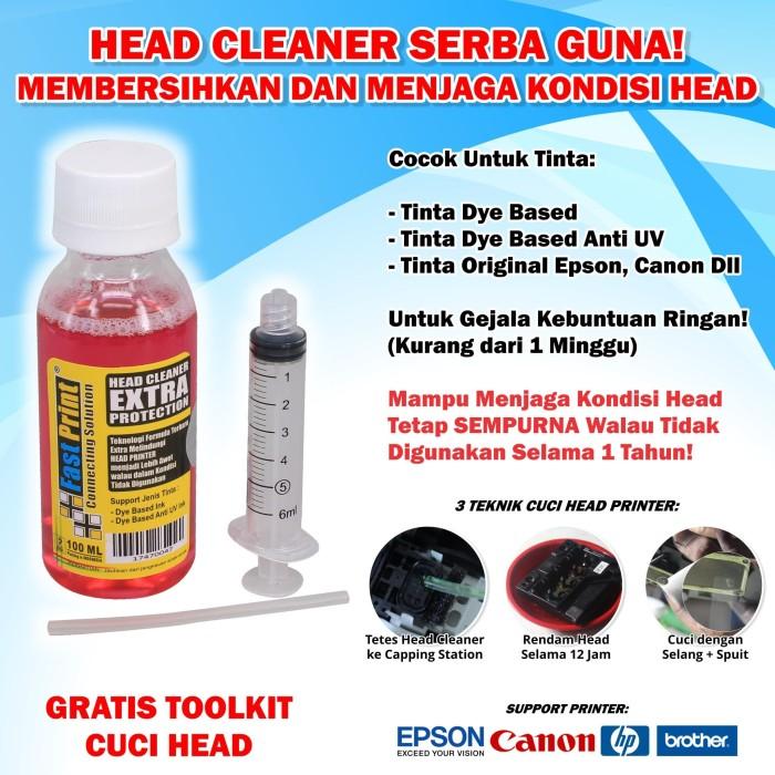 Foto Produk Head Cleaner Extra Protection Fast Print 100 ML dari Fast Print Indonesia