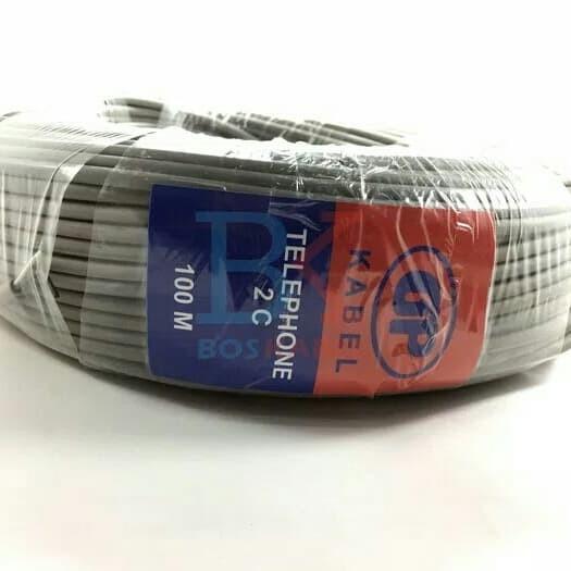 Foto Produk Kabel telepon GP isi 2 kabel 100meter/roll dari LDS Jaya