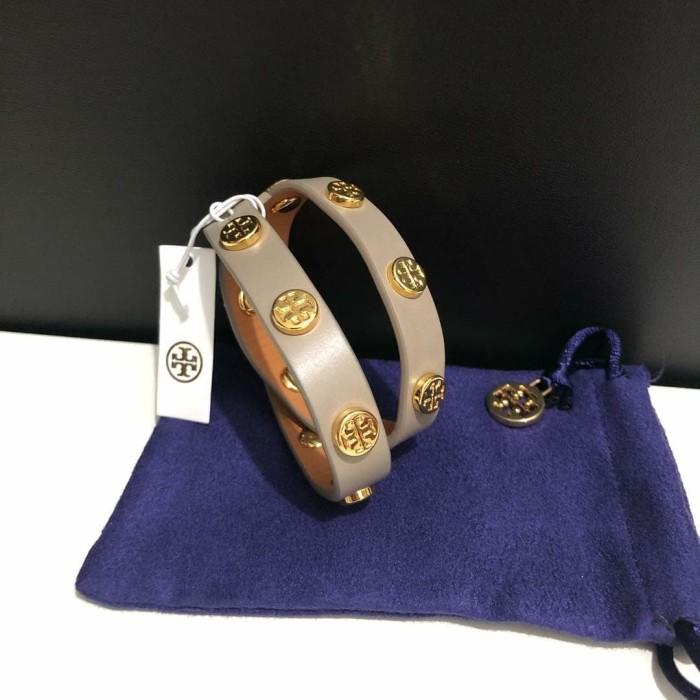 be90e9affd2 Jual Gelang Tory Burch Original   TB Bracelet Bracelets French Grey ...