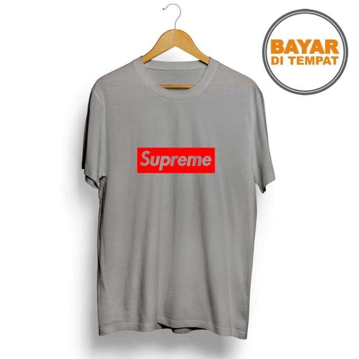 T-SHIRT GLORY kaos distro / kaos pria / t-shirt Supreme - Navy