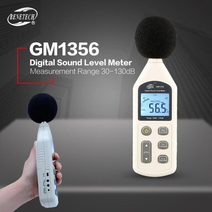 Jual Sound Level Meter Noise Meter dB Meter GM1356 Digital with USB - DKI  Jakarta - Rizquna Online Store | Tokopedia
