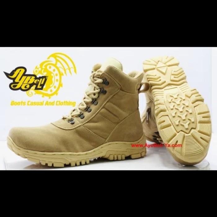 Jual sepatu DELTA sepatu gurun sepatu PDH model A 20Gi beige 39 ... 27028b3106