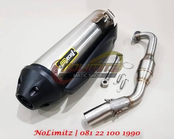 Foto Produk Knalpot Standar Racing Power Boom RCB1 Yamaha NMAX dari NoLimitz Maticshop