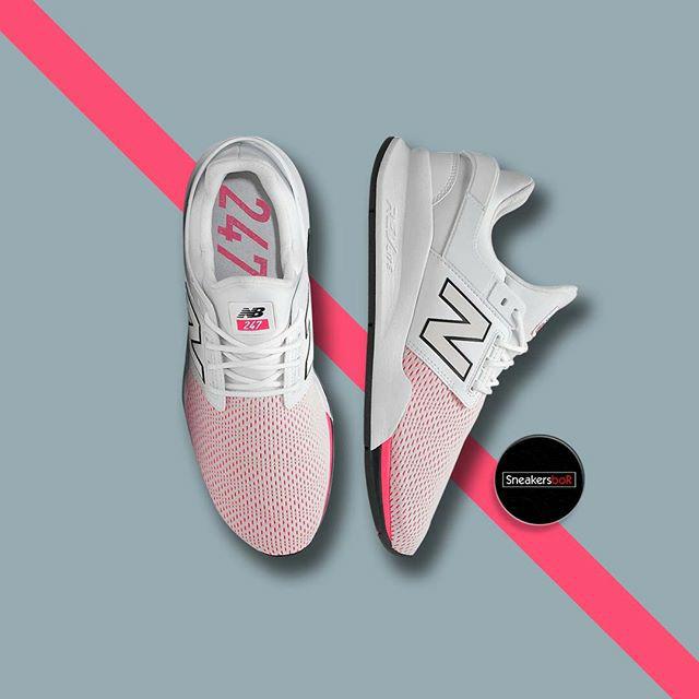 New Balance 247 V2 White Pink