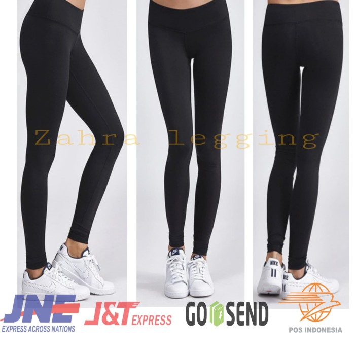 Jual Celana Legging Import Polos Tebal All Size Fit To Xxl Hitam Jakarta Utara Zahra Leging Tokopedia