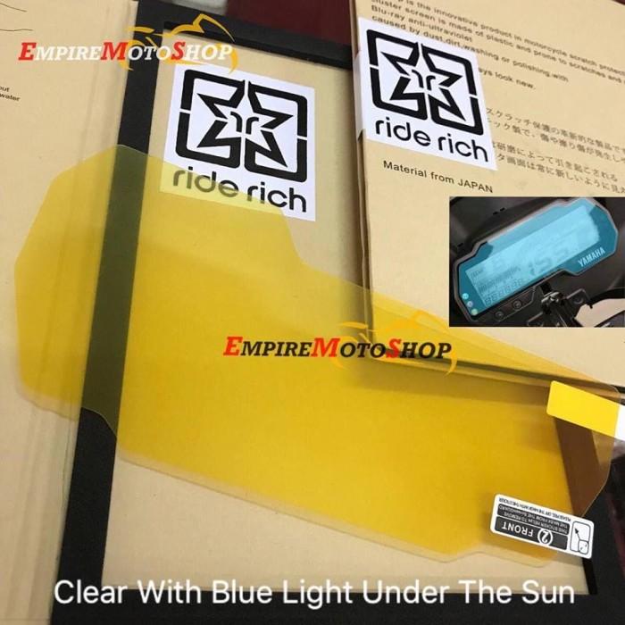 Foto Produk Ride Rich Anti Gores Speedometer Yamaha R15 V3 All New / Vixion R dari Empiremotoshop