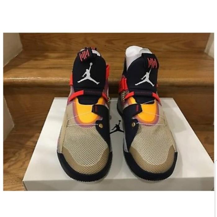 Jual Nike Air Jordan 33 XXXIII Visible Utility Particle Beige AQ8830 ... 3b193b8fa