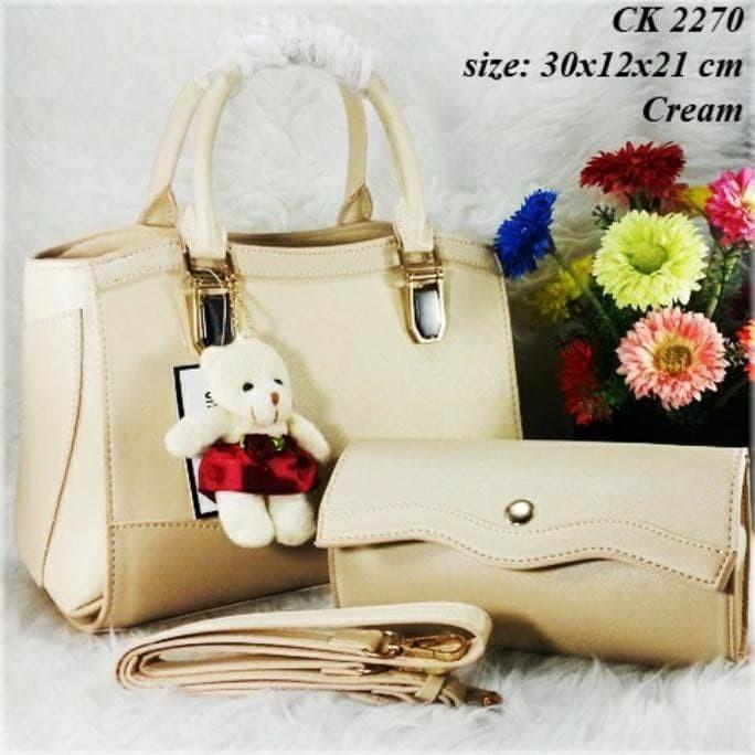 Termurah Tas Ck 2270 Set Dompet Tas Wanita Branded Murah Handbag Wan f180605219