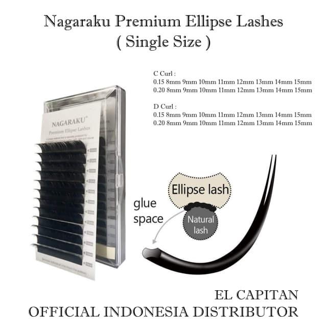 64e2dd8c4ef Jual Nagaraku Premium Ellipse Lash Nagaraku Single Size / Nagaraku ...