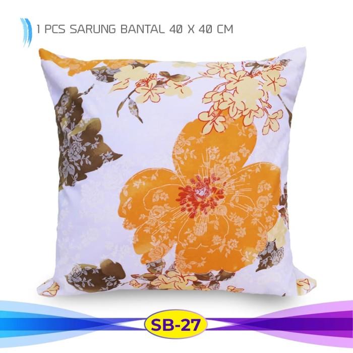 Sarung Bantal Sofa 40 x 40 cm ( Satuan)