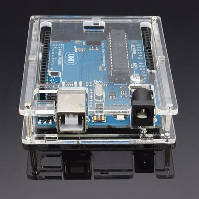 Transparent Acrylic Case Housing Cover for Arduino Uno R3
