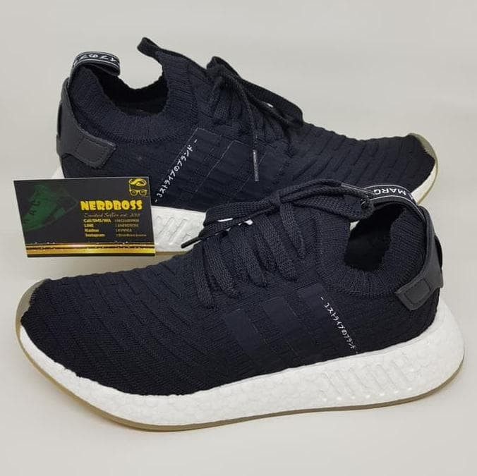 wholesale dealer b981c b9f17 Jual Adidas Nmd R2 Pk Japan Pack Black Core Bnib 100% Authentic Original! -  Kota Kediri - sukma.andi | Tokopedia