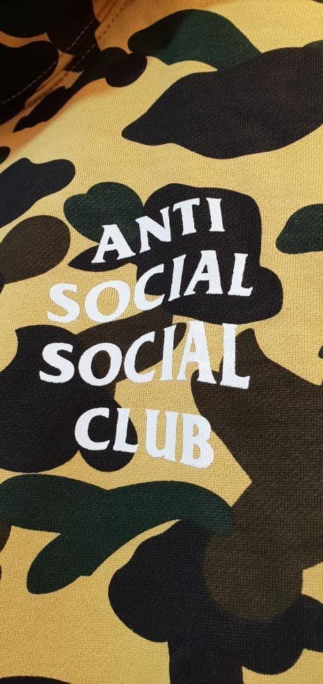 34c89ee5231f Jual Hoodie Pria   Hoodie Anti Social Social Club   Hoodie Camo Bape ...