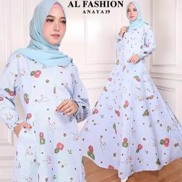 Jual Baju Gamis Wanita Terbaru 19 Baju Muslim Wanita Terbaru Syari ... cea30b6033