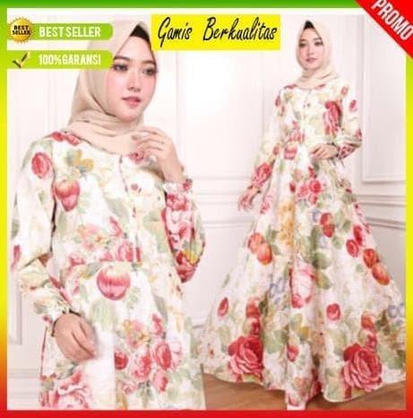 Jual Baju Gamis Wanita Terbaru Busana Muslim Busui Pesta Maxi Long ... e00b35e352