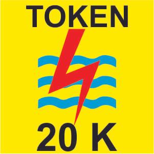 Token Listrik 20Rb/ Token PLN 20k