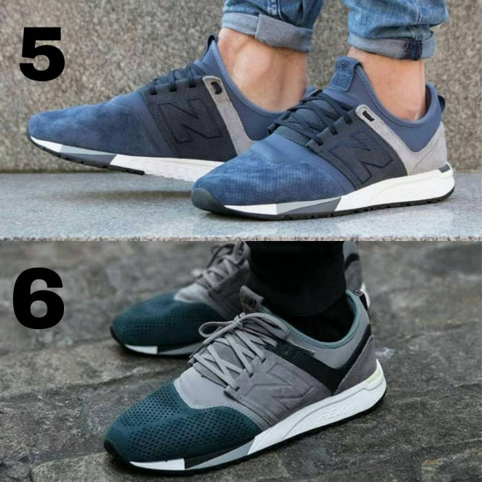 Jual Sepatu New Balance NB 247 Edition Man Premium Sneakers Kuliah ... aa92d51bfb