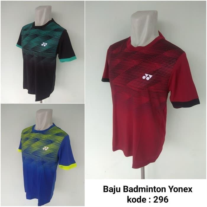 Jual Jual Baju Kaos Badminton Yonex 296 Kaos Olahraga Badminton 1018672c77