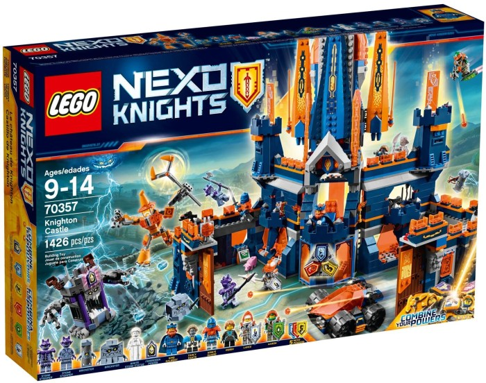 LEGO Nexo Knights Lot of 2 Brickster Minifigure 70357 Mini Fig