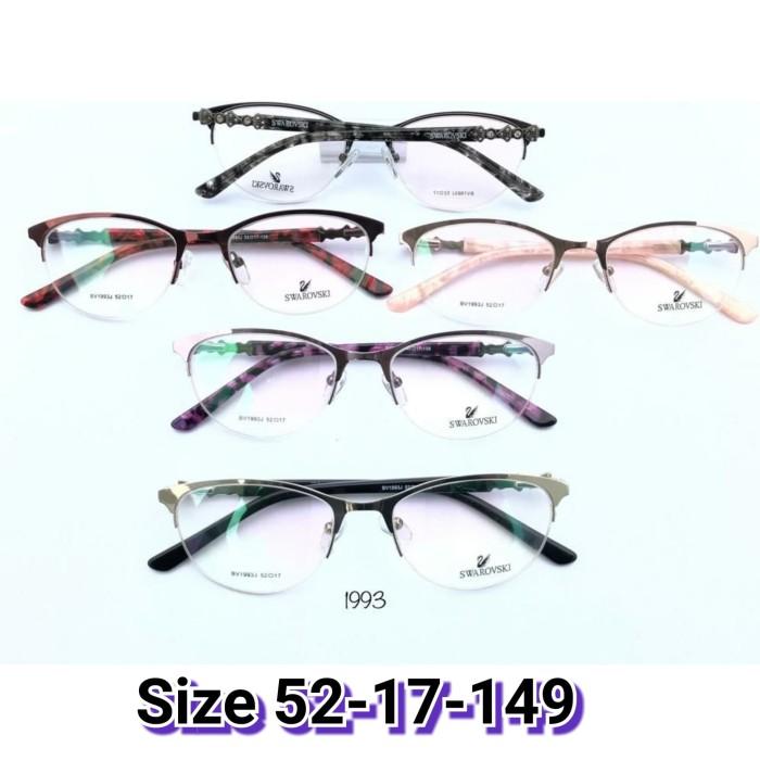 Jual Kacamata swarovski 1993 Kacamata Cewek kacamata super kacamata ... b31c188680