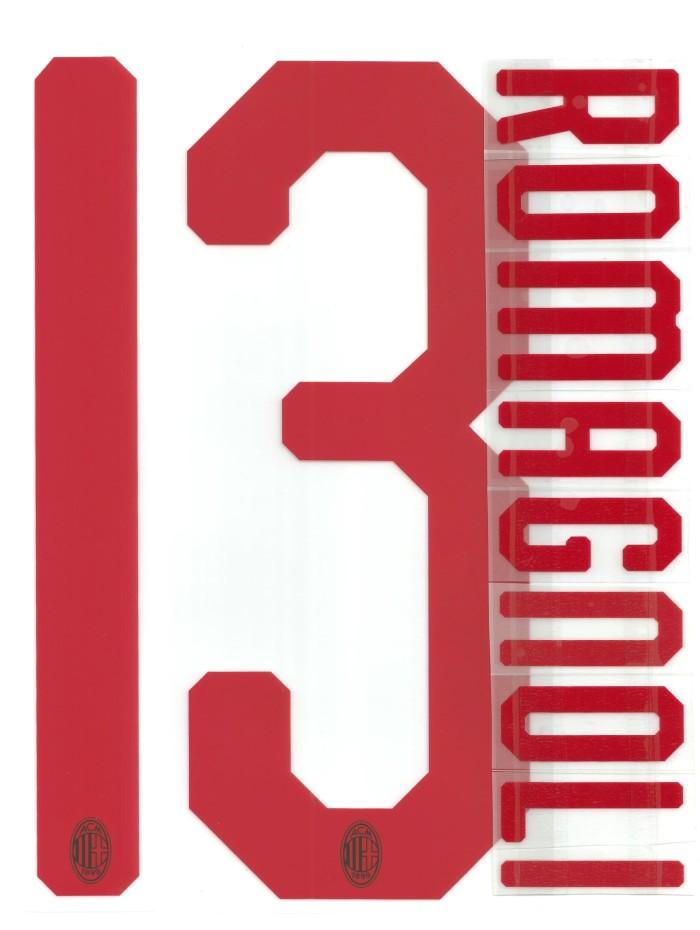 harga Nameset ac milan 2018-19 away. romagnoli. original nameset for jersey. Tokopedia.com