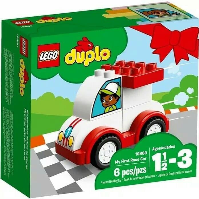 Jual Lego Duplo 10860 My Firts Race Car Kota Bandung Voetbalogy