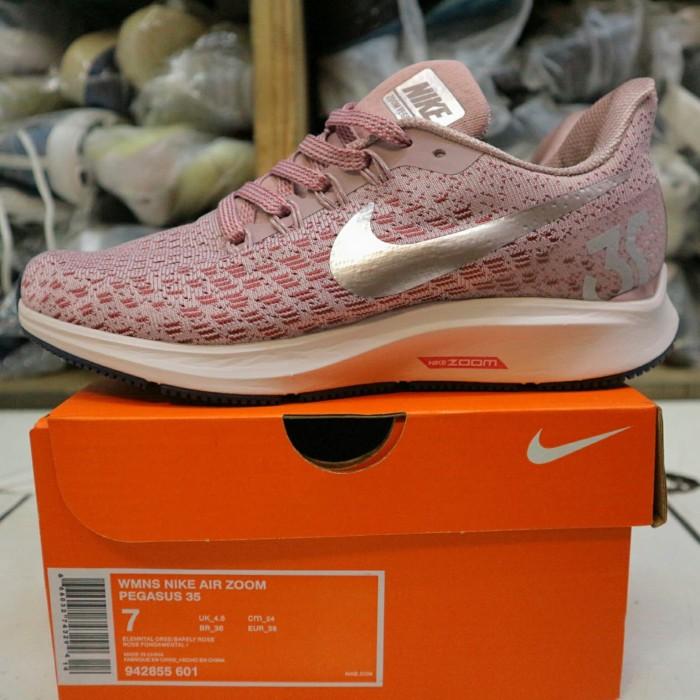 283a0e2eb3547 Jual Sepatu Nike Air Zoom Pegasus 35 Pink White BNIB Mirror Quality ...