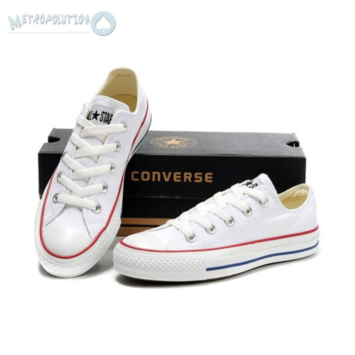 Jual Sepatu Converse All Star Chuck Taylor Unisex Putih White ... ffde12dff6