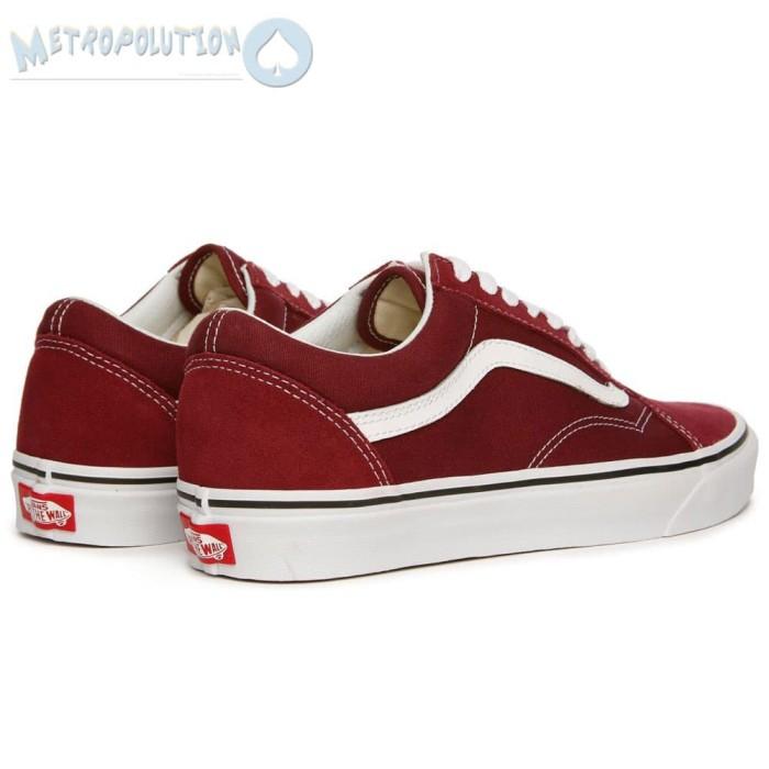 9cf7044c6c53ff ... Sepatu Vans Old Skool Classic Skate Suede Premium Quality Merah Maroon  - Blanja.com ...