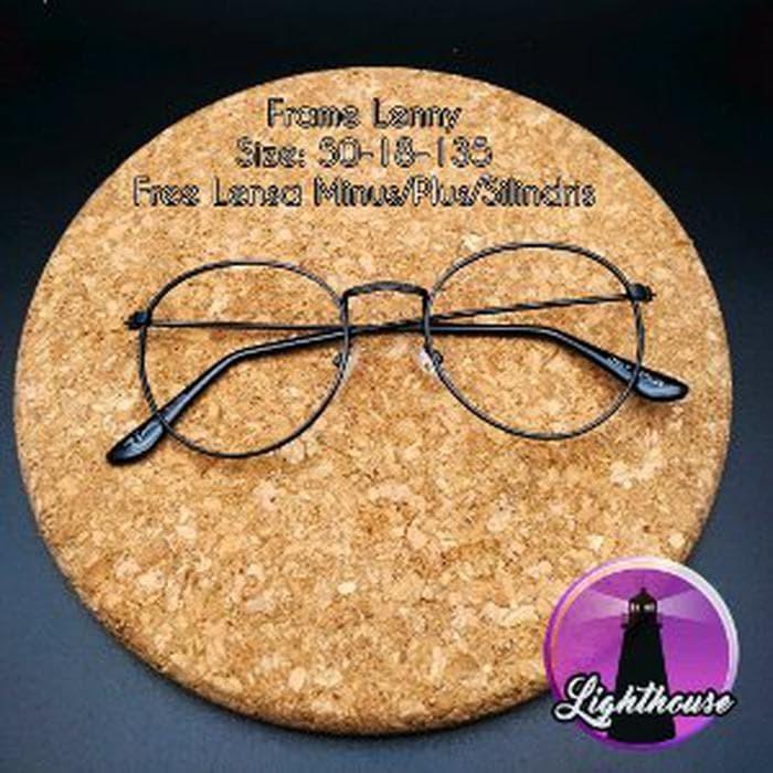 Jual kacamata gaya resmi kantor murah retro besi pria wanita cewe ... fe821f2302